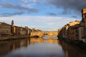 bridge acros water in venice photgraphy