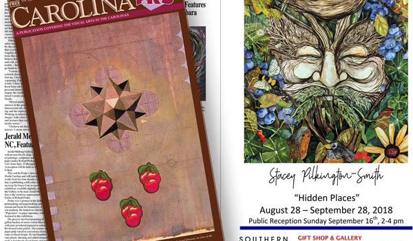 Southern Arts Society Featured in Carolina Arts Magazine