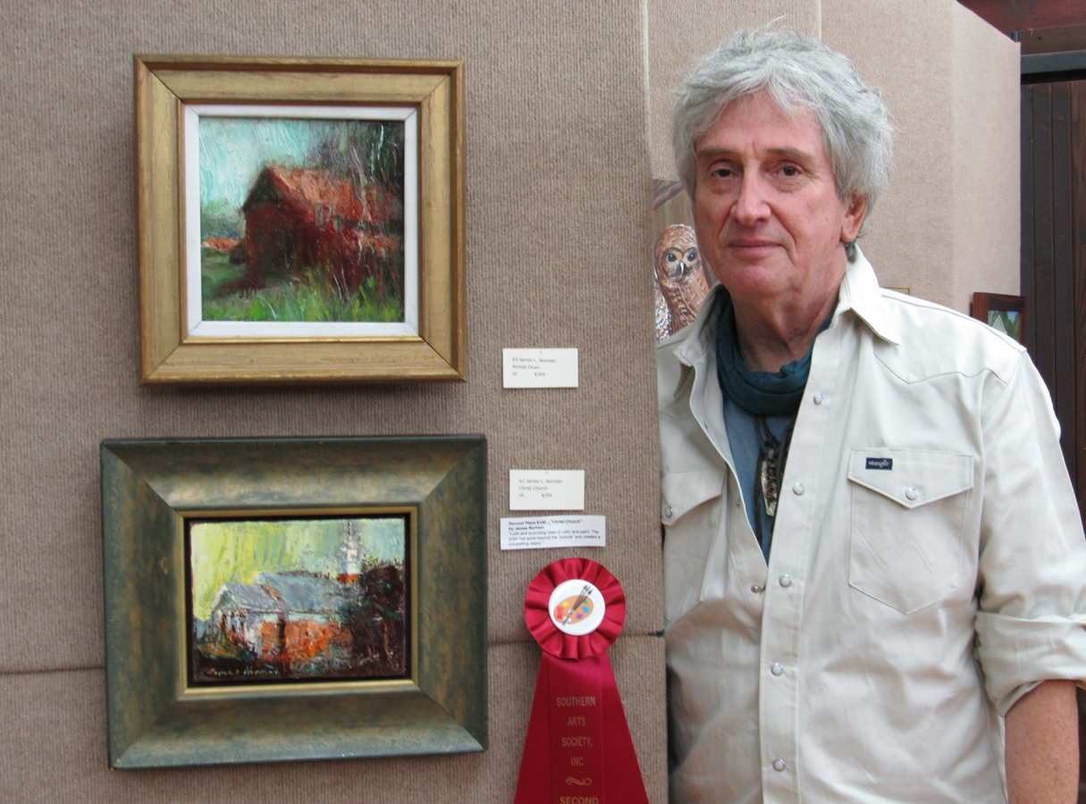 2nd Place James L Norman oil