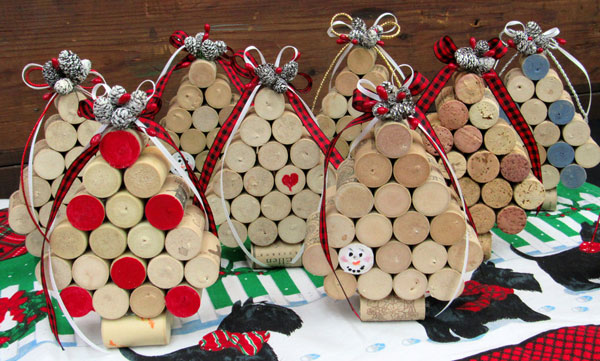 Shirley Brutko - Cork Ornaments