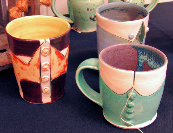 Suzanne Mellichamp - Tea Mugs