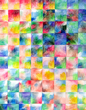 A Wall of Many Colors by Jacquelin Ramey