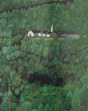 Church View From Above by Rob Dyer