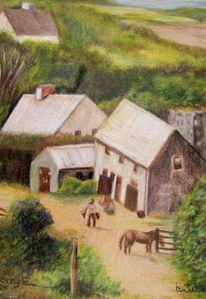 County Kerry Farm by Jan Welborn
