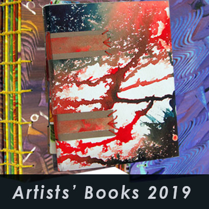 Artists' Books 2019 art books made of paste papers