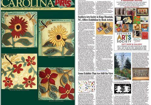 Southern Arts Society in the News