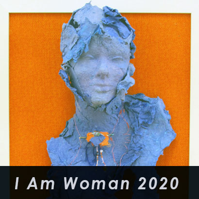 I AM Woman exhibit at Southern Arts Society on view March 6 - April 25, 2020.