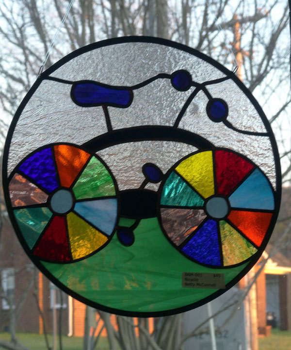 Betty McConnell - stained glass