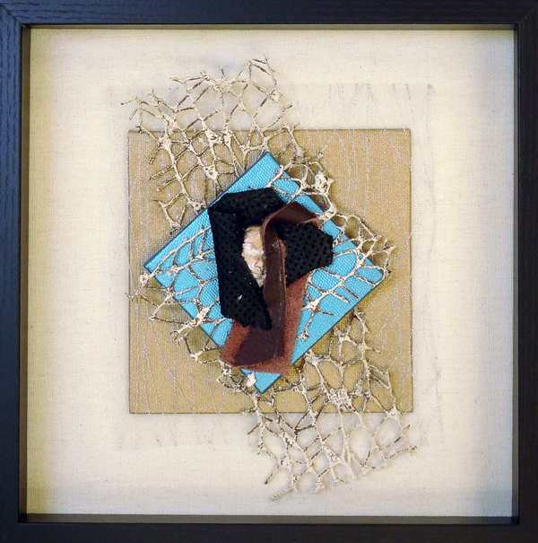 Janet L Kaufman - collage/sculpture