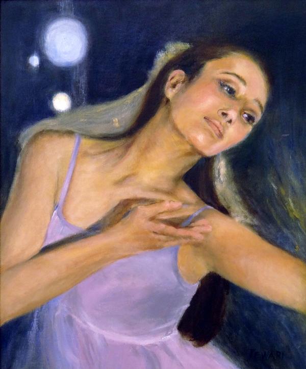 Leah Tewari - Charis - oil