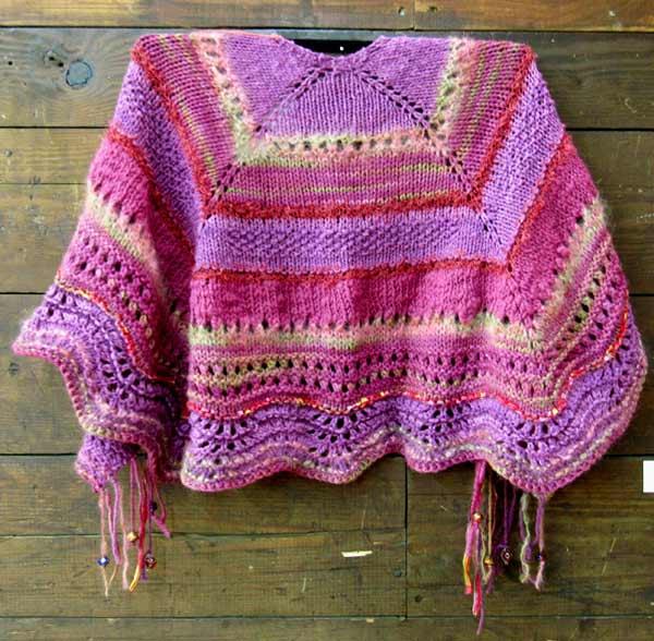Chris Dunlap, A Bit of Elegance Shawl, knitting