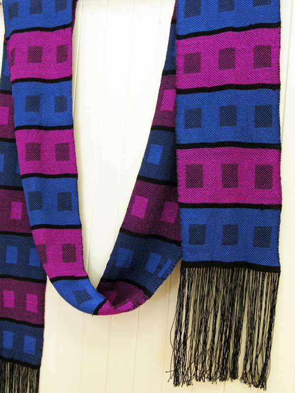 Chris Dunlap, Color Blocks Gone Mad, weaving
