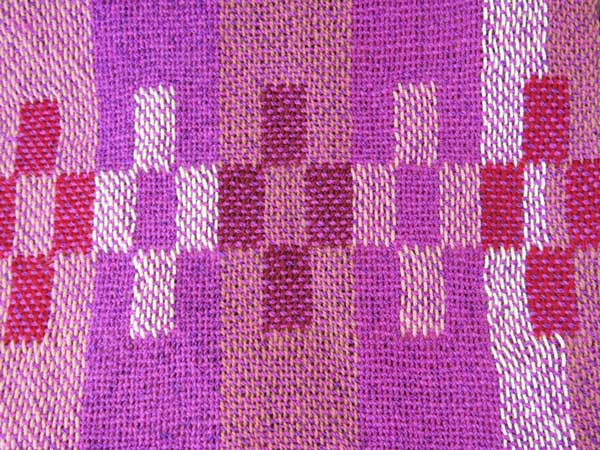 Chris Dunlap, Color Block Fantasy, weaving
