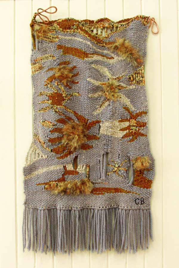 Constance Buchanan, Dessert Flowers, tapestry w coppe
