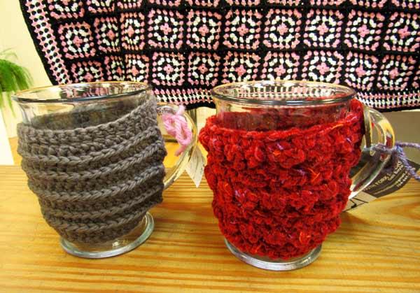 Gail Boyles, mug warmers