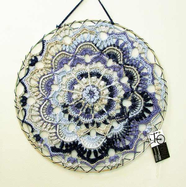 Gail Boyles, Spring Flower Mandala, crochet
