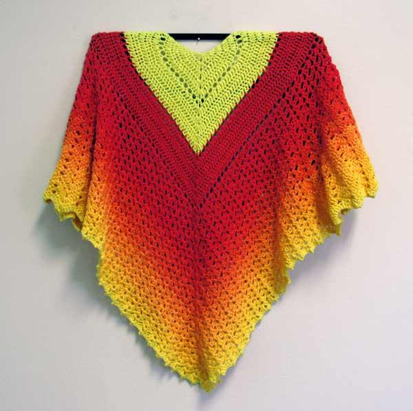 Gail Boyles, Ultimate Scrifice Shawl, crochet