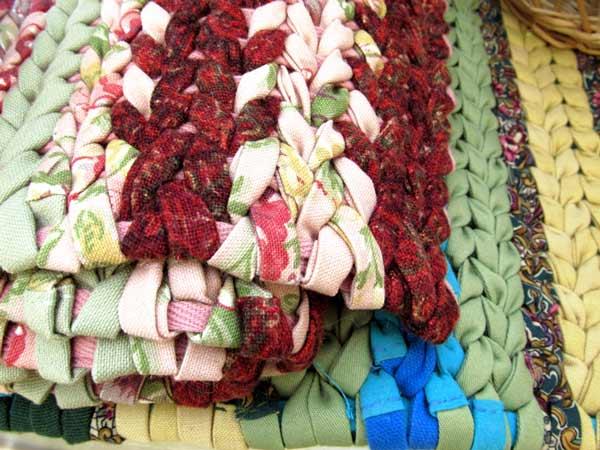 Linda Erickson, Detail: wined rugs