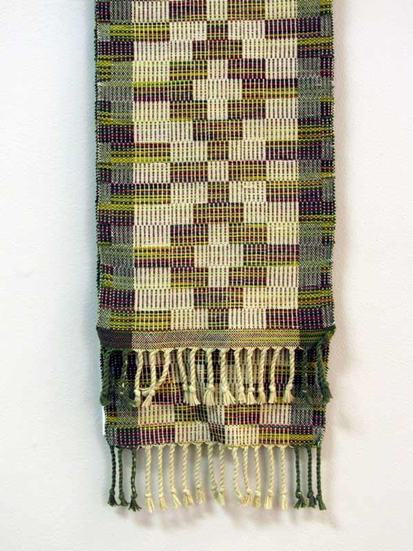 Linda Erickson, Crackle Weave, Scarf