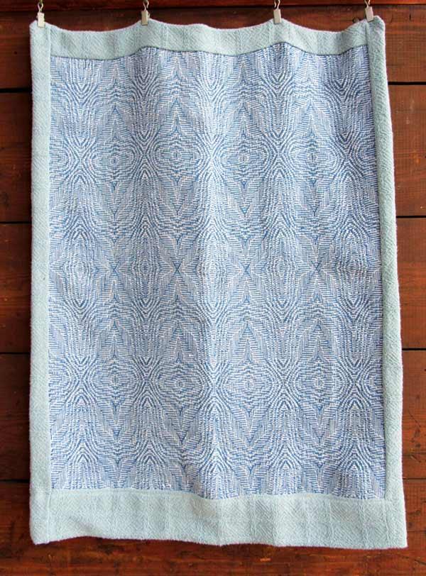 Linda Erickson, Shadow Weave Pillow Cove, weaving