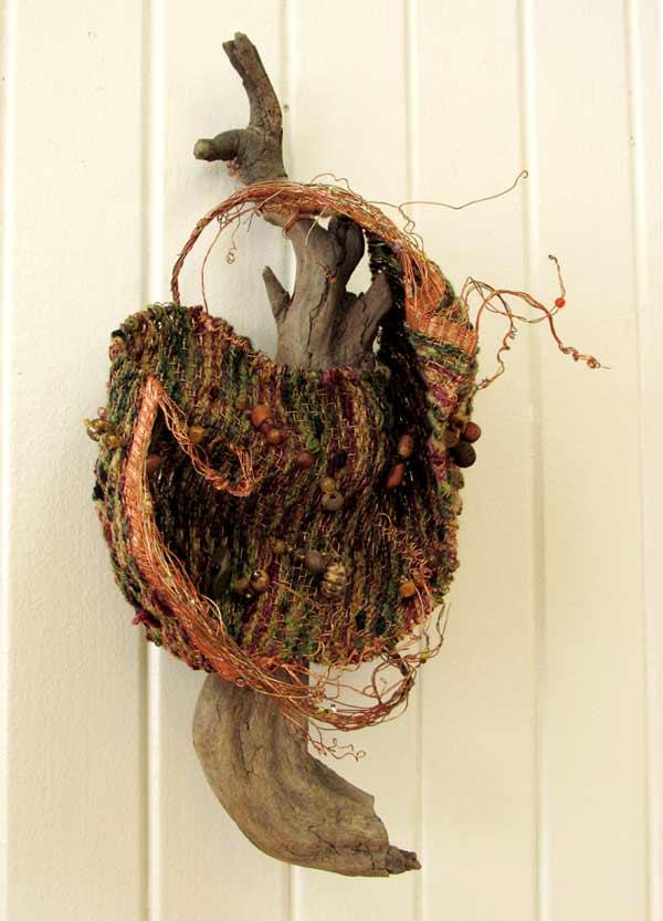Sue Helmken, Woodland Charms, wire weaving