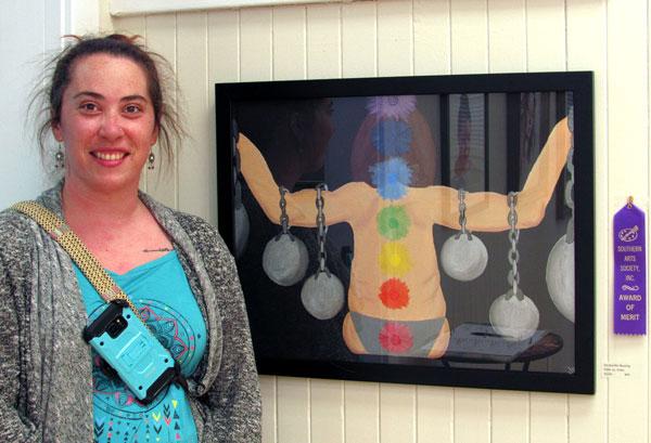 """Merit Award - Jennifer Bowling """"Inner vs. Outer"""""""