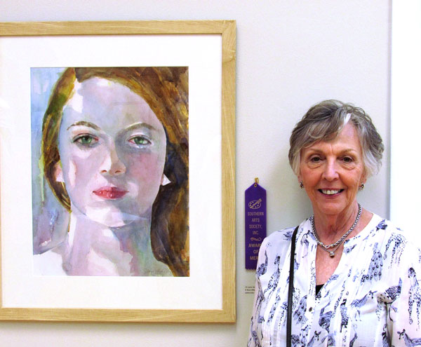 "Merit Award - Lynn Schilling ""A Blue Afternoon"""