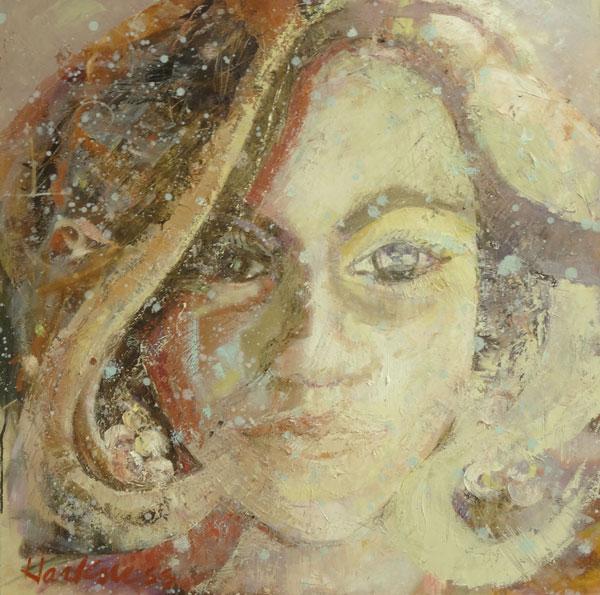 Anne Harkness - Uncut Gem - oil