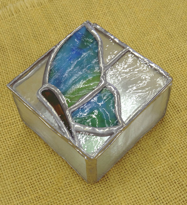 Betty McConnell - Butterfly Box - glass
