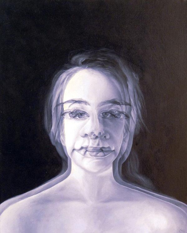 Cecil Norris - Selves - oil