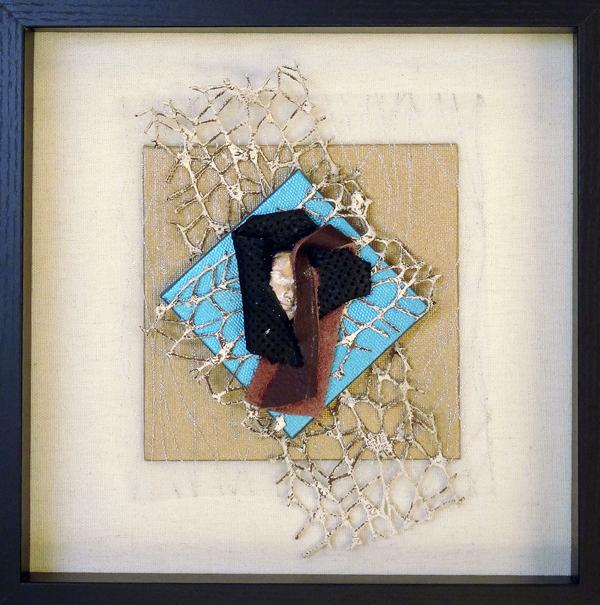 Janet L Kaufman - collage/sculpture