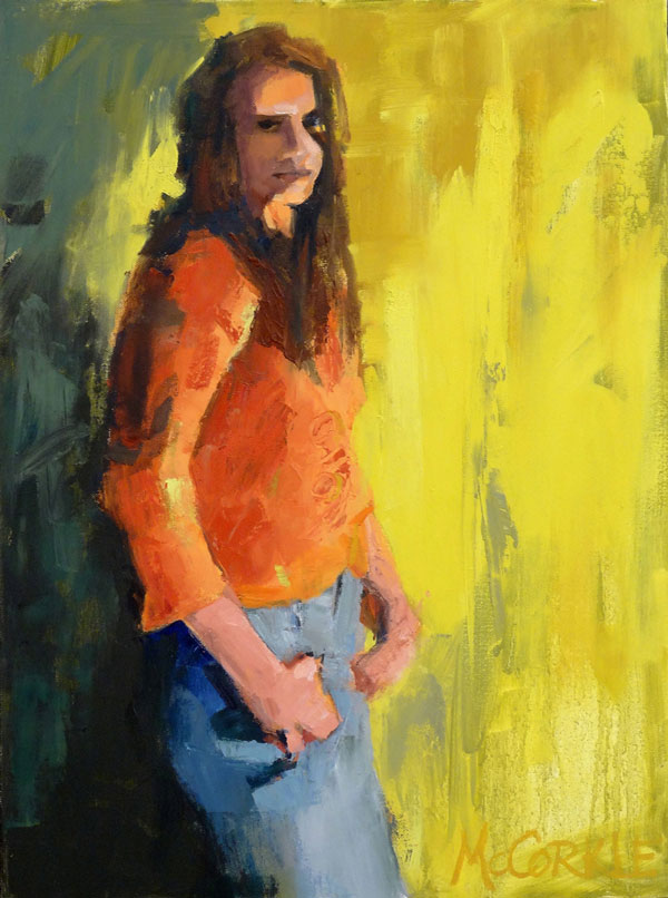 Mary McCorkle - Reflective - oil