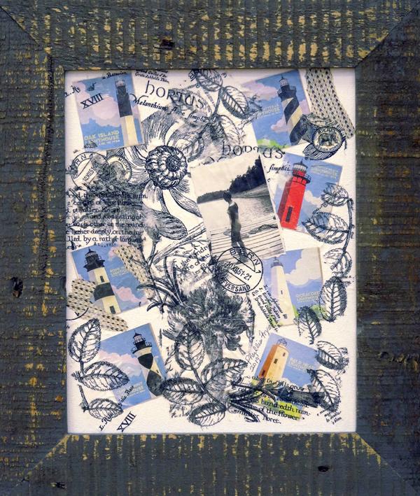 Phyllis Frye - Let It Shine On Me - collage