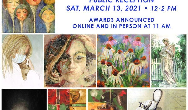 I Am Woman 2021 Exhibit March 3 - April 16, 2021.